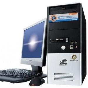 Компьютер Pentium 4 2500 Мгц с монитором 17